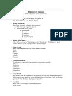 Figure of Speech Quiz