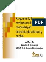 PRE-Aseguramiento de Mediciones en RF y Microondas