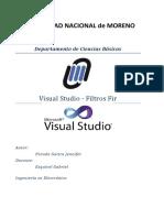 Tp3 Filtros Fir en Visual Studio