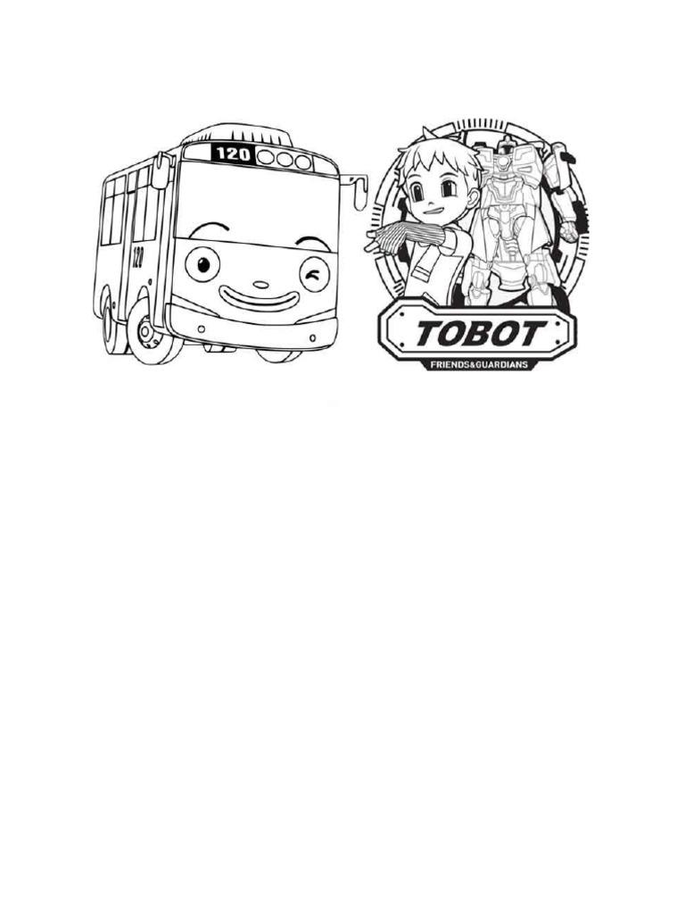 Mewarnai Tobot