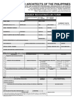 UAP MEMBERSHIP REGISTRATION FORM