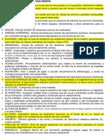 Glosario de Terminología Minera