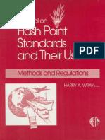 Flash Point Standards