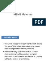 MEMS material
