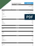 Boeing 787 Checkliste