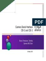 Camera Serial Interface CSI2 CSI3 Overview