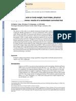 Jurnal Pertama (Effect of Valproic Acid on Body Weight, Food Intake, Physical