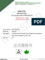 NS107S RGB LED, APA107 upgrade