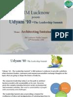IIM Lucknow Leadership Summit 2010