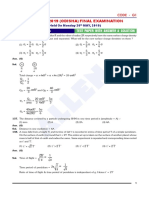 Phy Paper With Answer Solution
