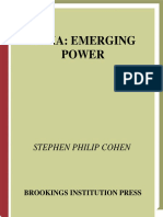 Stephen P. Cohen - India, Emerging Power.pdf