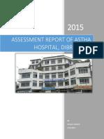 Gap Report Astha Hospital