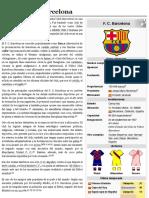 Fútbol Club Barcelona - Wiki