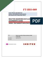 Reactor Anaerobio de Flujo Ascendente (UASB)