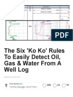 The Six 'Ko Ko' Rules to Easily Detect Oil, Gas & Water From a Well Log _ Dosh Nazlan _ Pulse _ LinkedIn