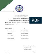 NLP Project Reportttt