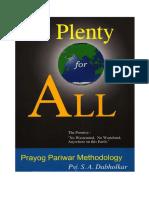 PlentyForAll English Prof.sria.Dabholkar Dabholkar Plenty All