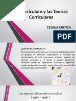 Del Currículum y Las Teorías Curriculares