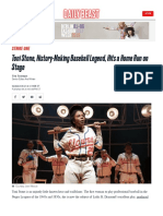 Toni Stone History Making Baseball Legend