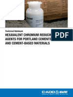 Mapei Dam Cement Reducing Agents Technical Notebook