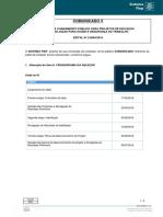 Edital CR 2.0050 Comunicado5