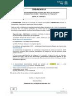 Edital CR 2.0050 Comunicado6