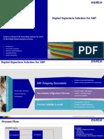 Exalca_Digital Signature Solution for SAP_V.01
