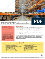 ERP Implementation Case Study