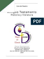 Antiguo Testamento Historia y Literatura