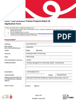 GTP 19 Application Form Euis