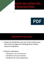 II-La Désinfection Des Surfaces Des Locaux Biocontaminées