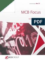 MCB Focus Post budget 2019-2020