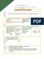 matriz didactica