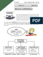 II BIM - HP - 3er. Año - Guía 3 - Fase Peruana de La Indepen