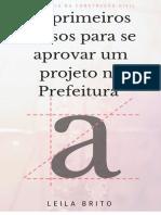 16 Passos para aprovar projeto na prefeitura