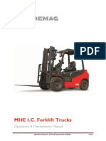 Operation & Maint Manual MFD_MFP - J Series (IC Forklifts) 140828