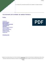 Accionamiento Del Ventilador de Radiador Hidráulico B11R.