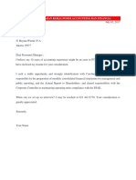 Contoh Surat Lamaran Kerja Posisi Accounting Dan Financia