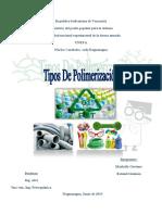 polimerizacion tipos