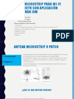 Antenna Patch Para Wifi y Bluetooth-exposicion