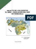 Efectos del Niño en Venezuela - Parte I