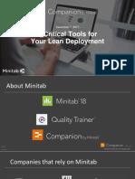 5 critical toolsforyour lean deploymen twith companionbyminitab-