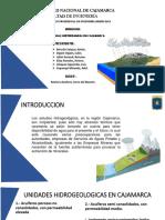 Analisis de Aguas Subterraneas en Cajamarca