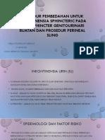Prosedur Pembedahan Untuk Inkontinensia Sphincteric Pada Pria