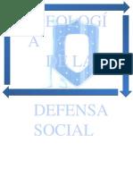 Ideologia de La Defensa Social