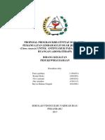 Rancanngan Proposal PKM