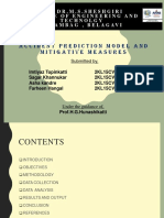 Accident Prediction Model and Mitigative Measures(FINAL)