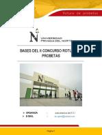 II Concurso de Rotura de Probetas - Bases 2019
