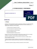 B311Parte 2 Diseño Condiciones y Criterios