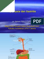 (24Sept) Dispepsia & Gastritis - Dr. Salman